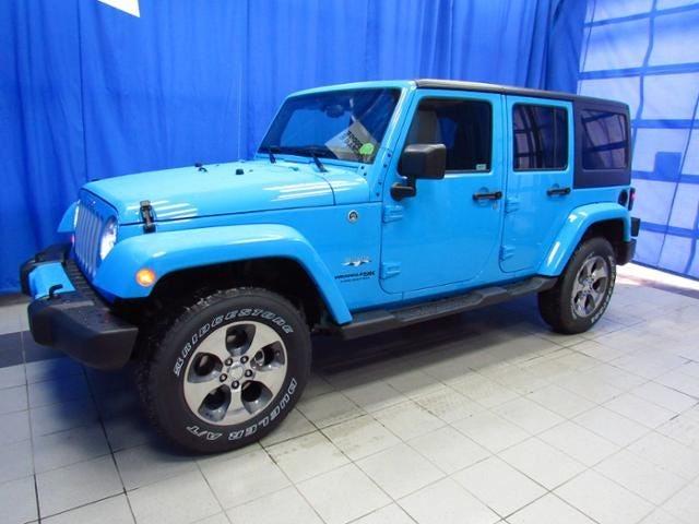 2018 Jeep Wrangler Jk Unlimited Sahara 4x4 Anchorage Ak