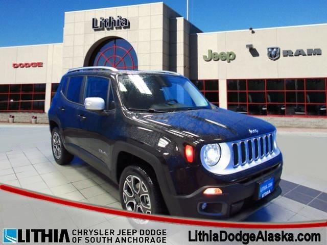 2017 Jeep Renegade Limited 4x4 Anchorage Ak Wasilla